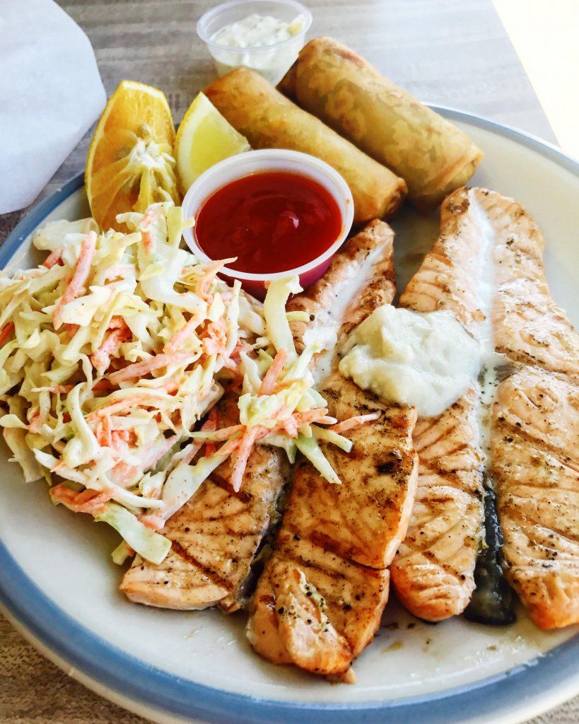 BBQ Salmon San Luis Obispo Fish