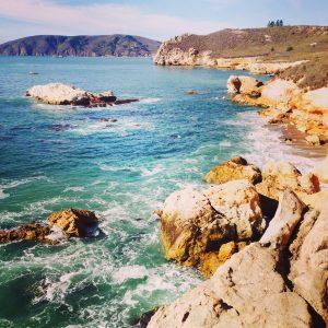 pirates cove avila beach central coast cave