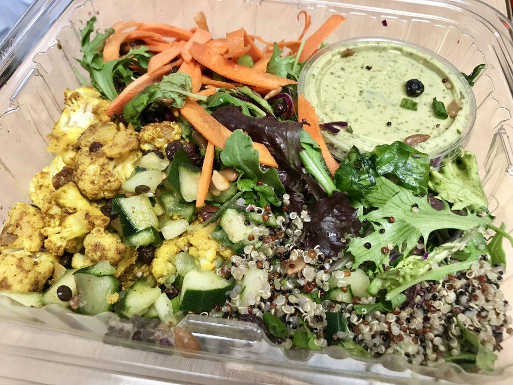 vegan salad curry
