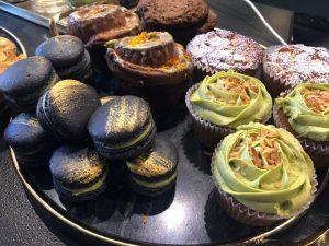 macaroons, cupcakes, kin, bakery, coffee, san luis obispo