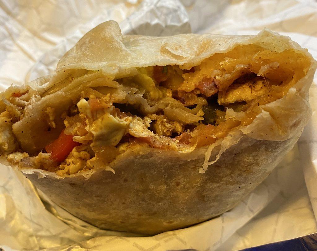 Ono Grinds Burrito